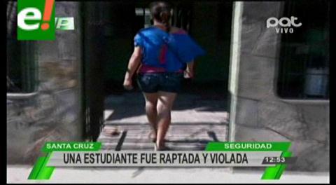 Santa Cruz: Una estudiante fue raptada y violada