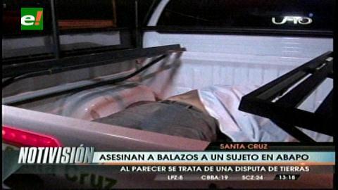 Asesinan a balazos a un hombre en Abapó - eju.tv