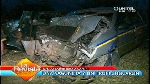 Accidente de tránsito provoca la muerte de un menor en Abapó - eju.tv