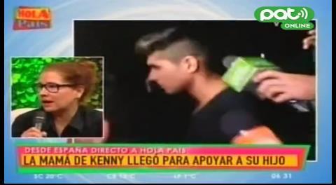 """Madre de Kenny: """"Están cometiendo una injusticia con mi hijo"""""""