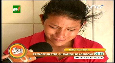 Drama: Madre de 25 años quiere regalar a su hijo más pequeño