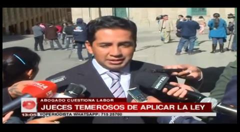 Afirman que jueces están temerosos de aplicar la ley contra Eduardo León