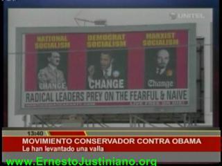 """Obama, un """"líder radical"""" como Hitler y Lenin"""
