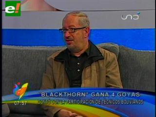 Los premios Goya de Blackthorn reconocen el trabajo boliviano