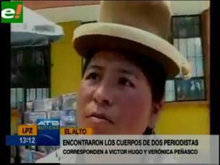Asesinan a la jefa de prensa de radio San Gabriel y a su hermano en El Alto