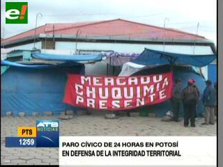Potosí cumple un paro y Oruro toma las calles por conflicto de límites