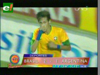 Brasil vence a Argentina en el Superclásico de las Américas
