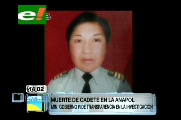 Gobierno advierte con retirar de la Anapol a responsables de la muerte de la cadete Poma