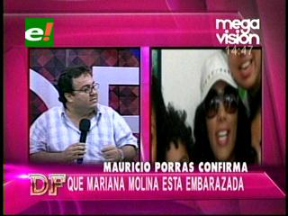 Confirman que Mariana Molina está embarazada