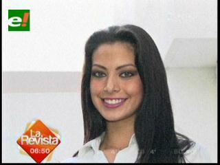 Alexia Viruez se prepara para el certamen de Reina Hispanoamericana 2012
