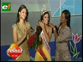 Yohana Vaca ganó título internacional  en Colombia
