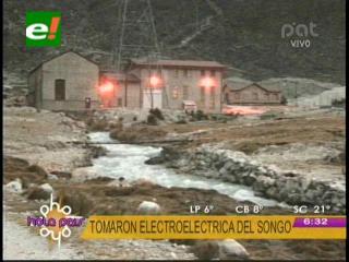 La Paz: Comunarios de Zongo amenazan con tomar planta hidroeléctrica