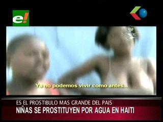 Haití: Niñas se prostituyen por agua