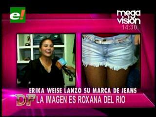 Erika Suárez Weise lanza su línea de jeans
