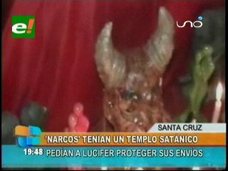 """""""Narcos"""" rendían culto a """"Lucifer"""" para que su droga llegue a su destino"""