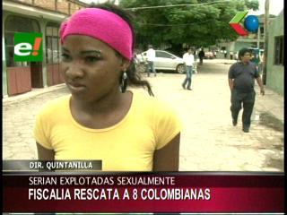 Colombianas denuncian tráfico de personas