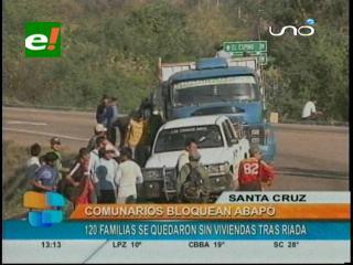 Pobladores de Abapó bloquean la ruta a Yacuiba - eju.tv