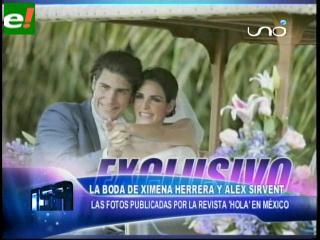 Fotos del matrimonio Ximena Herrera y Álex Sirvent – eju.tv  Fotos del matri...