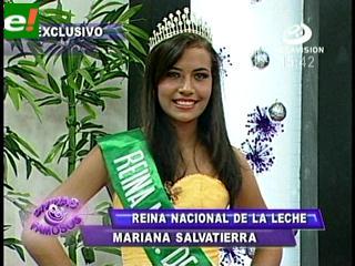Mariana Salvatierra Reina Nacional de la Leche 2010