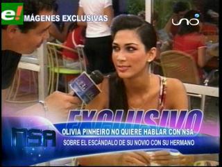 Olivia Pinheiro no habla con NSA