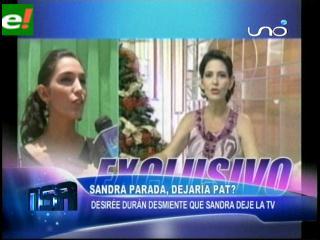 Para NSA Sandra Parada dejaría definitivamente PAT