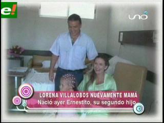 Felicidad familiar por el nacimiento de Ernesto Justiniano Villalobos