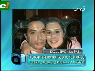 Fabiola Pastén y Richard Pereira se divorcian