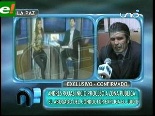 "Periodista Andrés Rojas inicia acción legal en contra de programa ""zona pública"""