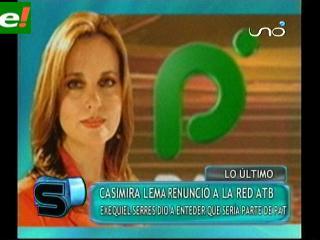 ¿Casimira Lema a PAT?