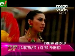 Olivia Pinheiro protagoniza vídeo en ritmo morenada
