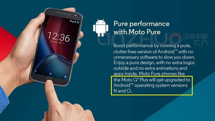 Moto 4G