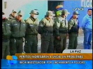 Ayllus de Uncía investigarán a policías y fiscales