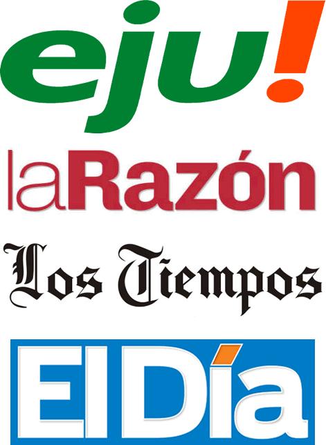 Titulares de periódicos del domingo 2 de agosto de 2015