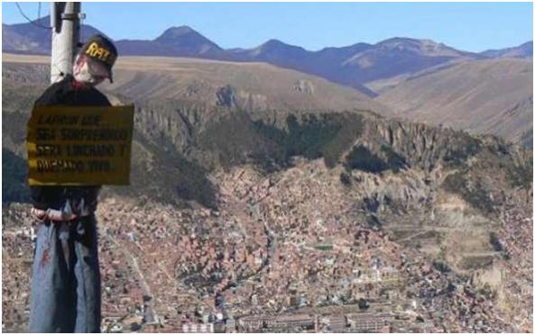 Linchamiento: Queman vivos a dos personas en El Alto