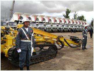 Morales: Comando de Construcción del Ejército marcará la nueva historia de Bolivia y de las FFAA