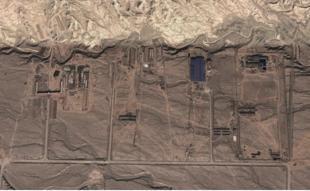 Misterioso bunker gigante en el desierto chino BUNKER