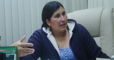 Senadora Sifuentes confirma que ella tenía respaldo para ocupar presidencia en el Senado