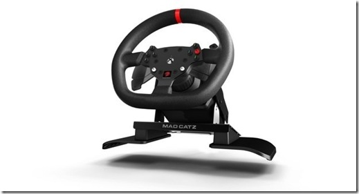 Force Feedback Racing Wheel Mad Catz