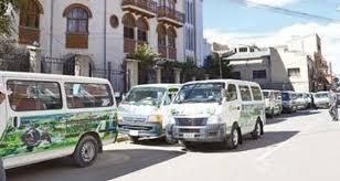 Chóferes de Oruro ratifican paro movilizado para este viernes