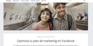 """Facebook para empresas"" ya disponible en español"
