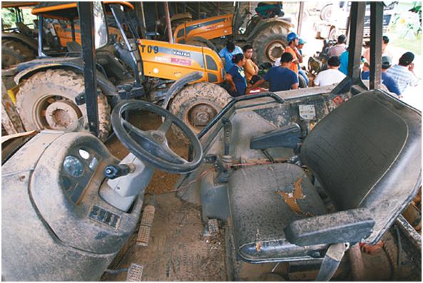 Los bienes de Ostreicher en Bolivia se convierten en ruinas