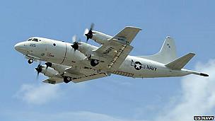 Avión P-3C de Estados Unidos