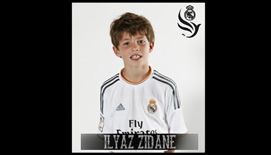 Elyaz Zidane juega de ...