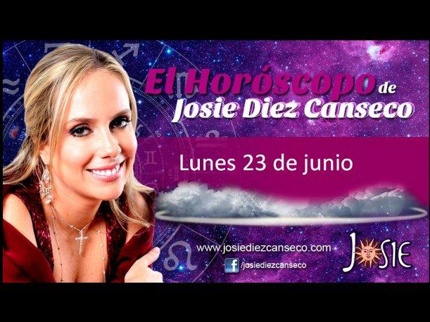 Josie Diez Canseco: Horóscopo del lunes 23 de junio (VIDEO)