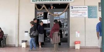 Cochabamba: Hospital Viedma colapsó y muere joven en la puerta