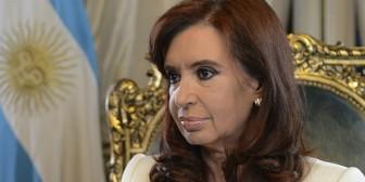 Cristina Fernández sugiere cambiar capital de Argentina