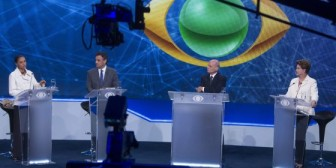 Silva sale ilesa de los ataques entre candidatos en el primer debate en Brasil