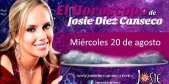 Josie Diez Canseco: Horóscopo del miércoles 20 de agosto