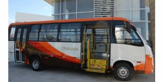 Santa Cruz: Tres modernos buses circularán el 1er anillo