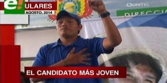 Titulares: MAS tiene el candidato a senador  más joven en el Beni